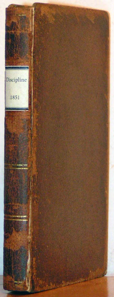 Image for Discipline, 1851.  The Doctrines and Discipline of the Methodist Epis