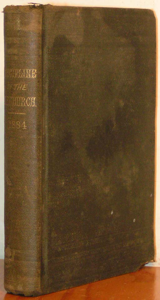 Image for Discipline, 1884.  The Doctrines and Discipline of the Methodist Epis