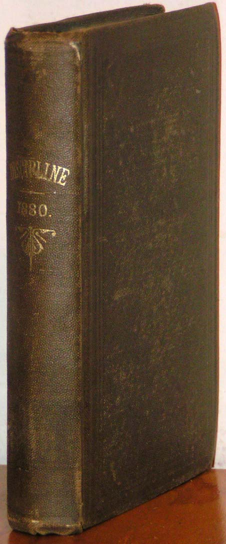 Image for Discipline, 1880.  The Doctrines and Discipline of the Methodist Epis