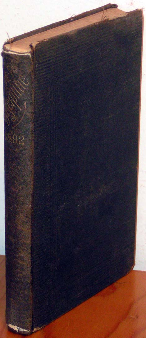 Image for Discipline, 1892.  The Doctrines and Discipline of the Methodist Episcopal Church.  1892.  With an Appendix.